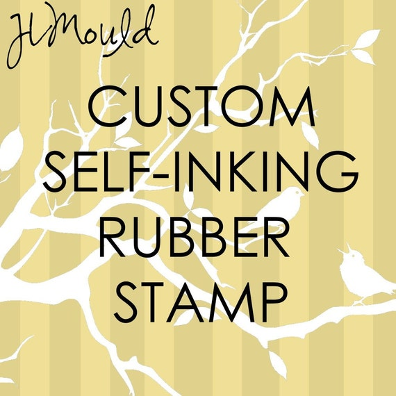 Using your Art Logo Business Kids Art Image Red Rubber Stamp 2.250 x 1.188 (self-inking )