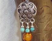 Flowers of the Southwest  Earrings