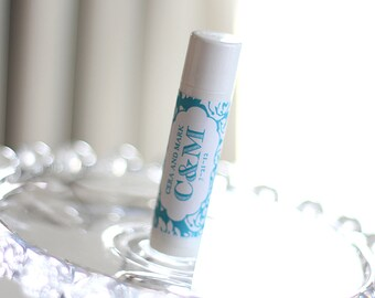 Personalized Lip Balm Stickers -- Damask -- Personalized Chapstick Labels, Birthday Party Favors, Wedding Favors