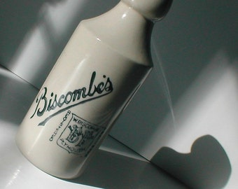 Biscombe's Crockery Bottle - Made in Japan - Cottage Chic Mod