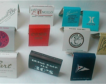 Matchbook Collection from Chicago - Vintage 60s