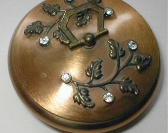 Pretty Vanity  Dish- --  Dressing Table Trinket Box - - Vintage 20s