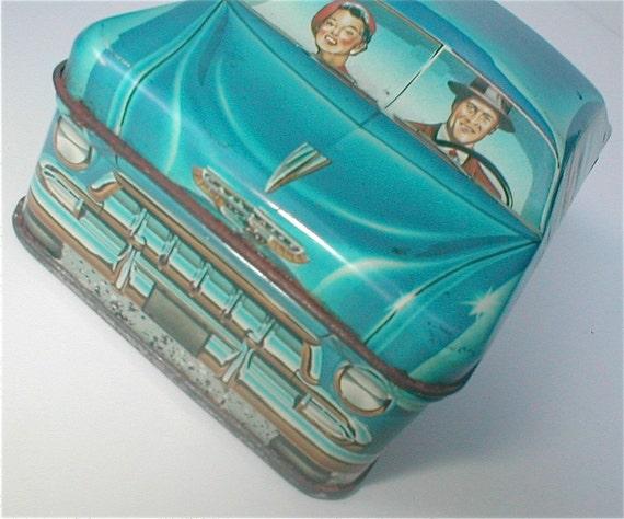car tin - ian logan's carlectables - vintage 1982