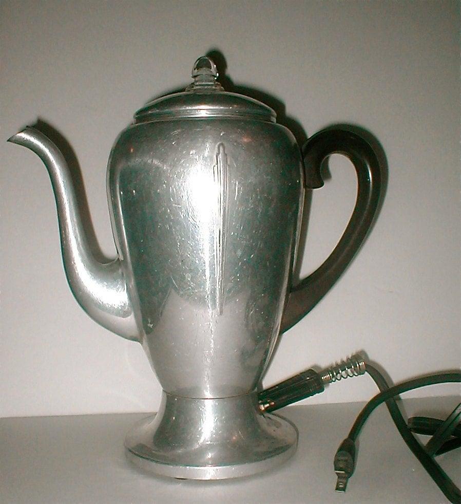 Mirro Percolator Coffee Maker : Vintage Coffee Percolator Mirro-Matic 8 Cup by studiostebbylee