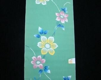 "Japanese yukata cotton kimono fabric 104"""