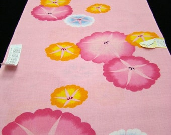 Cotton vintage Japanese kimono fabric  3 yards