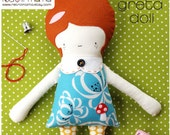 Soft Doll Sewing Pattern Instant Download