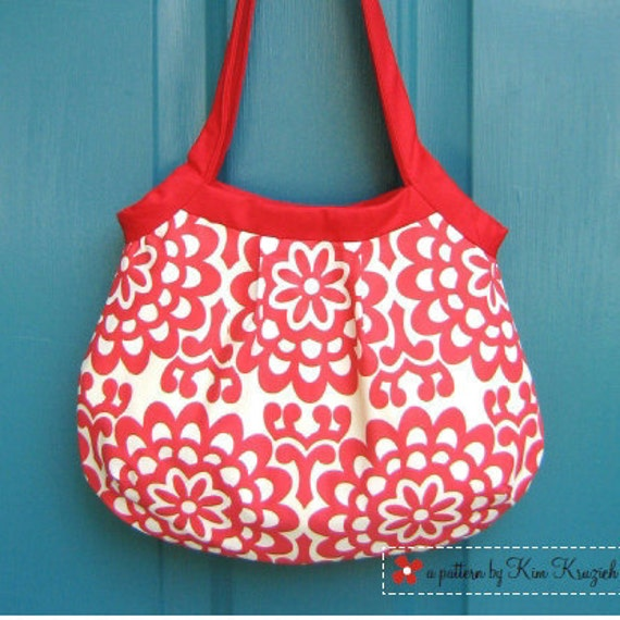 Purse Pattern - Pleated Penny Bag PDF Sewing Pattern - Purse Sewing Pattern - Bag Sewing Pattern Instant Download