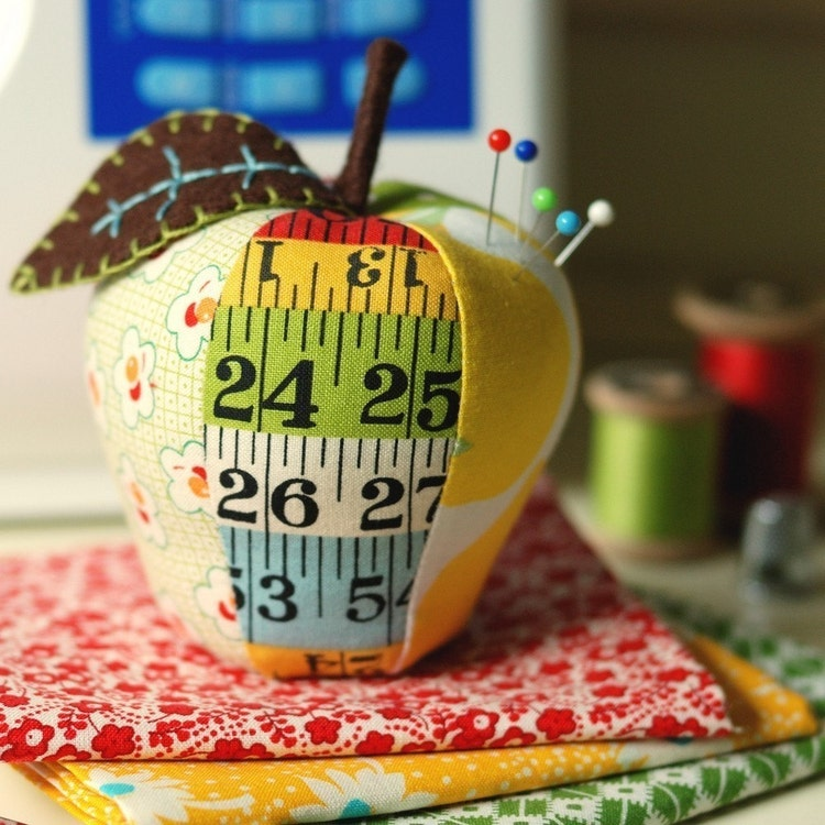 Apple Pincushion Sewing Pattern - Instant Download! Make ...