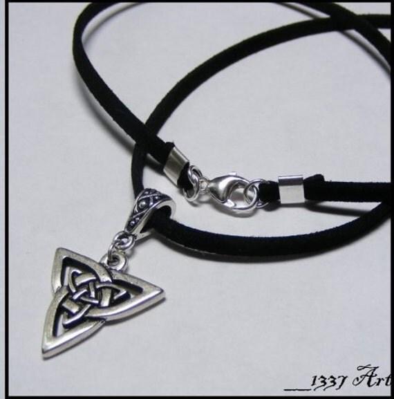 Celtic Triad Necklace for Men