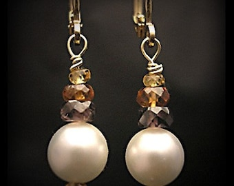 Sapphires and Cultured Pearls