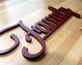 "Wooden ""Family"" Sign"