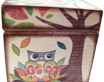Keepsake, Treasure, Trinket, Jewelry Box, Baby Boy or Girl Storage, Nursery Decor, Frog Box Baby Shower Gift, Children's Room, MADE TO ORDER