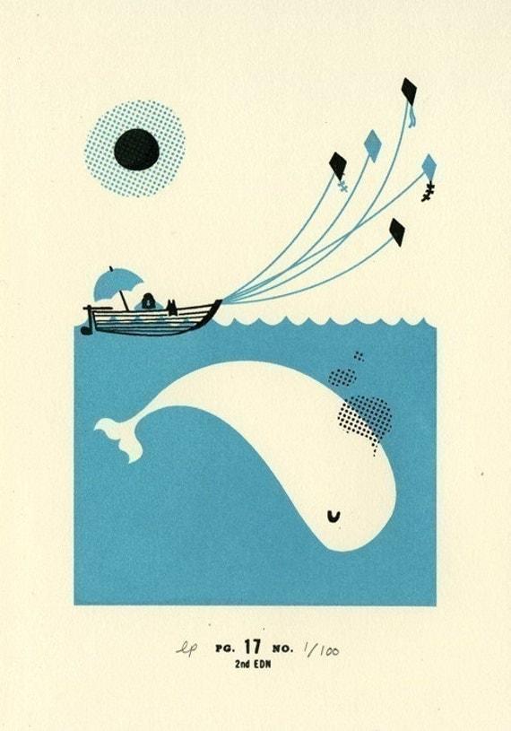 Page No. 17 - Whale Tale print