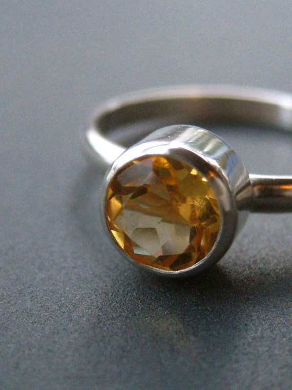 Citrine Facets--Made to Order in Your Size