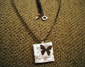 You Give Me Butterflies pendant