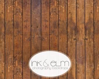 """Photography Backdrop 6ft x 5ft, Vinyl Photography Floordrop / Backdrop, Photo Vintage Distressed Wood Floor, Photo backdrop, """"Joe Schmoe"""""""