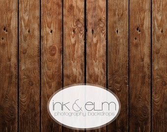 "Vinyl Photo Backdrop 5ft x 5ft, Vinyl Photography Backdrop Old Wood Floor, Vintage Wood Slats photo backdrop, newborn prop, ""Brownie Sundae"""