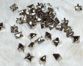 Pyramid Spots Nickel Plated 1/2  Nailhead Pack of 100