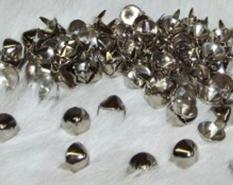 Cone Spots Nailheads Conical Nickel Plated 5/16 Pack of 100