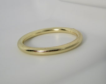 1 1/2 O Ring Welded Brass Plated Package of 6