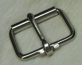Roller Buckles 2 Inch Nickel Plated Package of 100