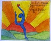 Joyful Dance Print