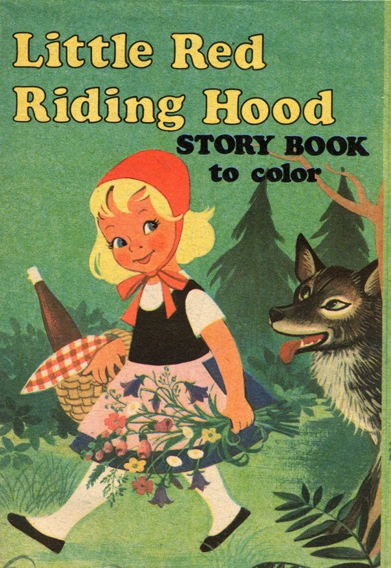 Little Red Riding Hood Vintage