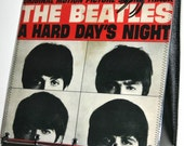 The Beatles, Hard Days Night, Record Album Purse Tote Handbag