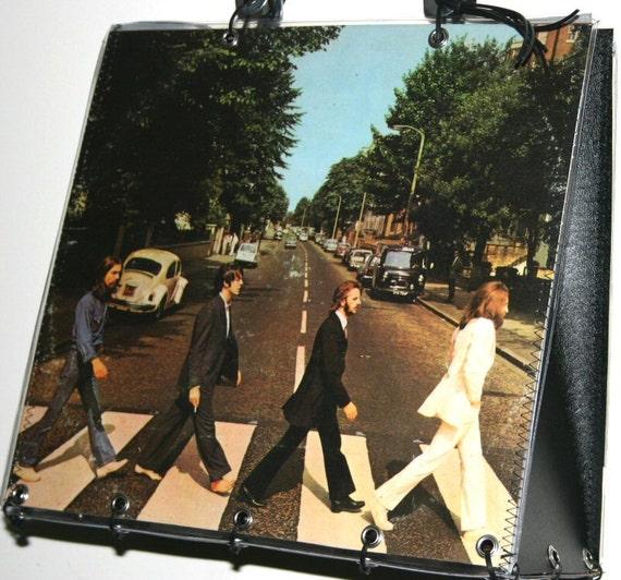 The Beatles Abbey Road Record Album Handbag Purse