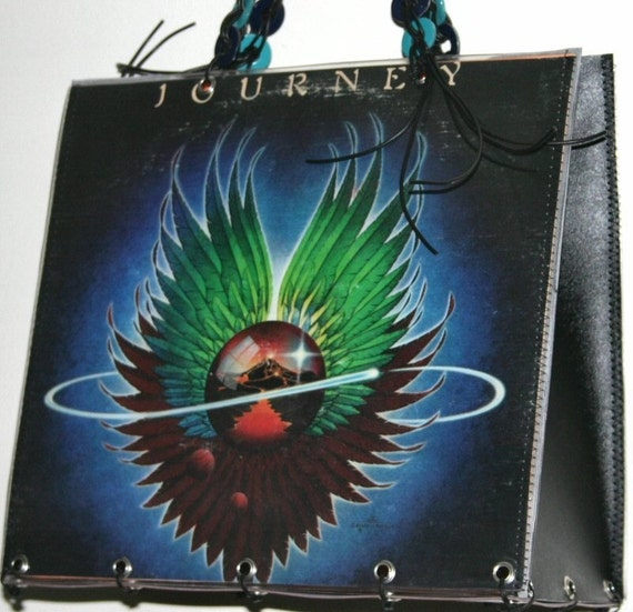 Journey Record Album Purse Tote Handbag