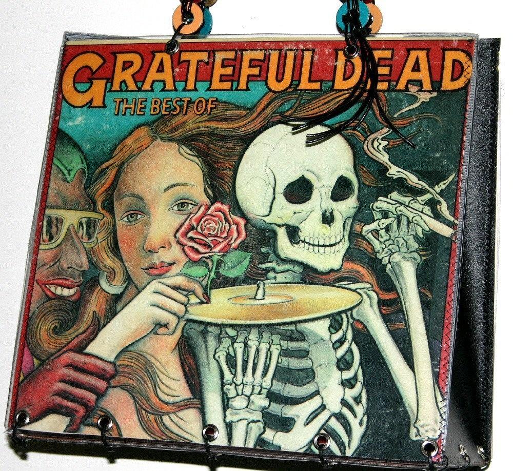 Grateful Dead Record Album Cover Pursetote Handbag By