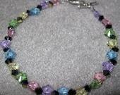 Swarovski Crystal Flower Bracelet