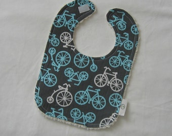 Bicycles and Chenille Bib