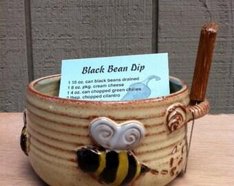 Bizzy Bee Bean Dip Bowl