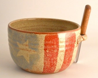 Old Glory Dip Bowl