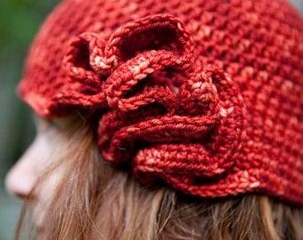 coral cloche PDF crochet pattern