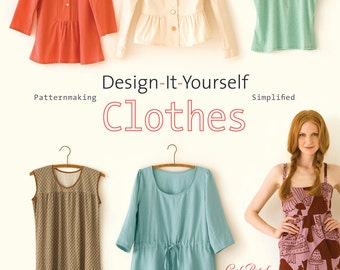 Design-It-Yourself Clothes book, signed by author (that's ME)
