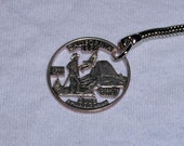 California State Quarter Keychain SPECIAL ORDER FOR ImagineArt7