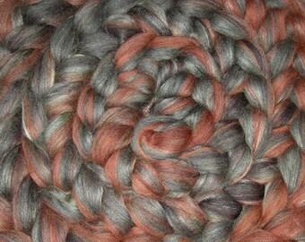 Superwash Exotic fibre blend, 4 Oz - Enchanted Glade