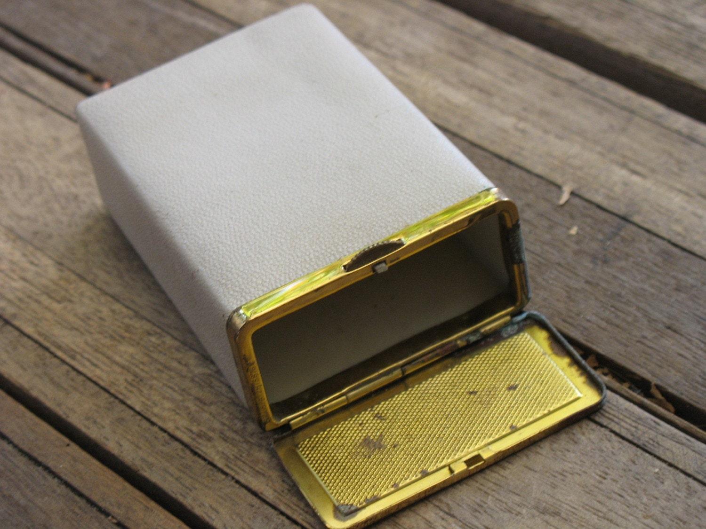 Vintage princess gardner cigarette case for Gardner case personalizzate