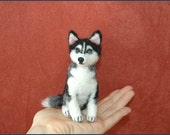 One Of A Kind OOAK Custom Needle Felted wild animal or likeness of your dog, cat, pet portrait soft sculpture bunny, Husky, Yorkie