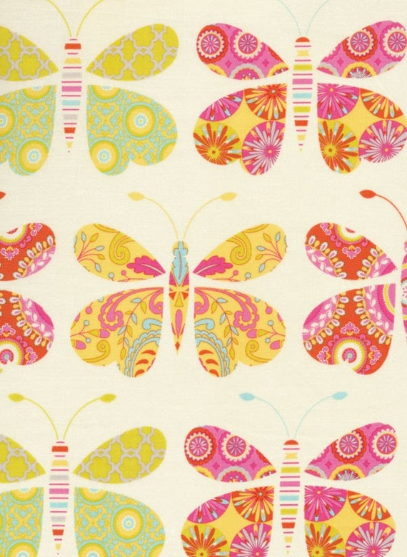 Dena designs kumari garden sacha butterfly 1 by for Kumari garden fabric by dena designs