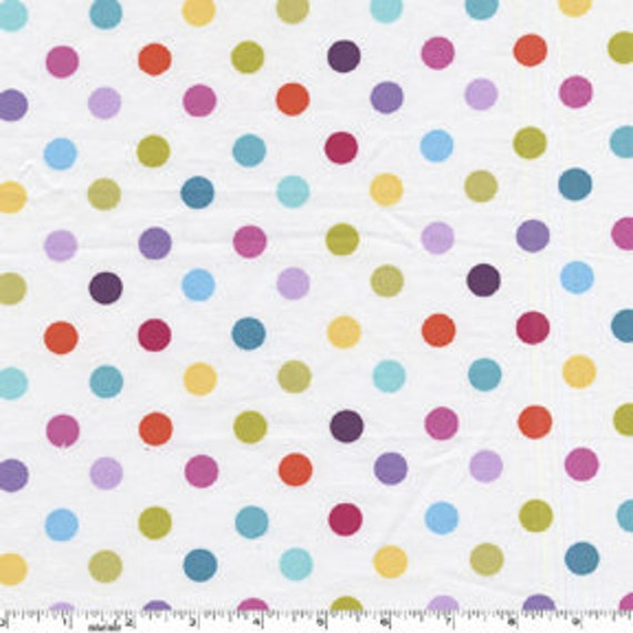 That's All Dot Polka Dots Berry Multi, by Michael Miller Fabrics 1/2 yard