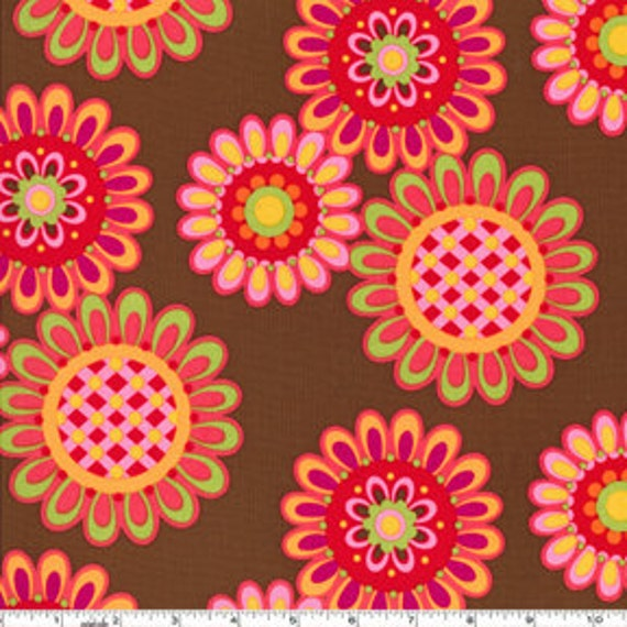 Ooh, La La  Les Fleurs Spice, Pillow and Maxfield  Designer Fabrics 1/2 Yard,  FABRIC SALE
