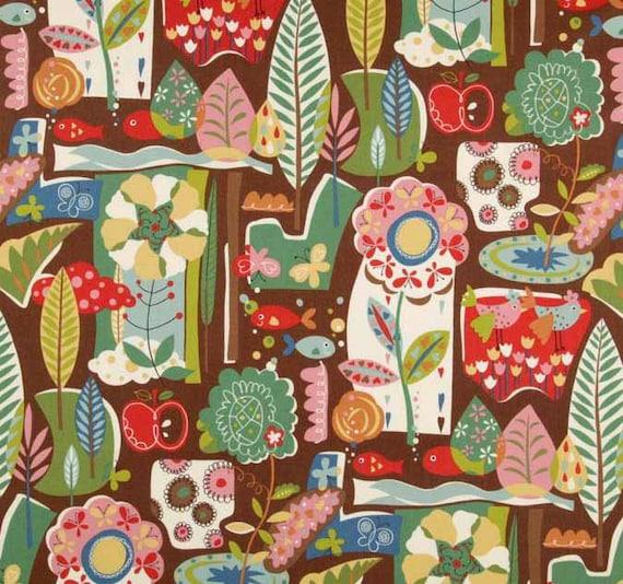 Tweet Tweet by Keiki  At the Park Bark - Moda Designer Fabric, 1/3 yard, Sale