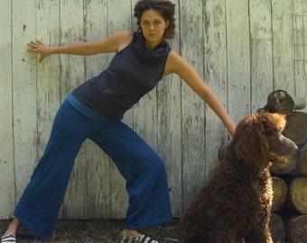Organic Simplicity Fleece Pant - ( organic hemp and cotton FLEECE ) - organic pants