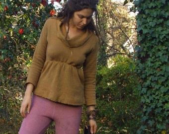 Organic Many Moons Kangaroo Empire Simplicity Shirt (organic hemp/cotton fleece) - organic shirt