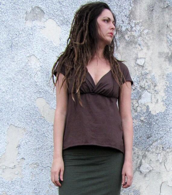 Organic Market Simplicity Shirt ( local organic cotton knit )