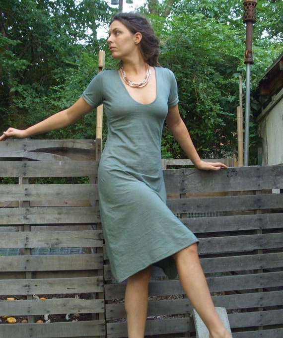 The Sexy Librarian Dress (local organic cotton)